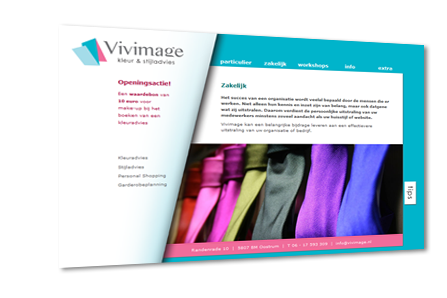 Website van Vivimage