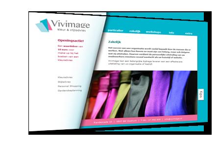 Website van Vivimage